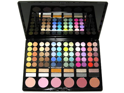 78 Shade Enchanted Rainbow Paint Palette