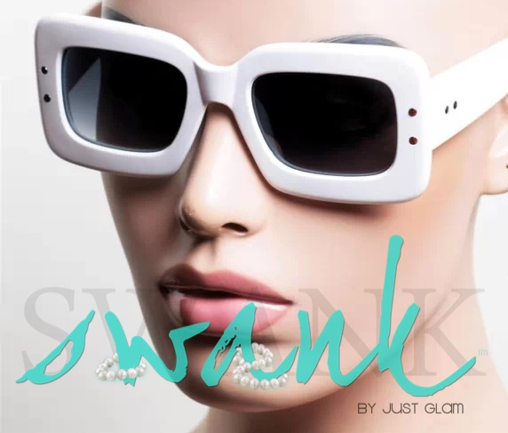 Strut White Sunglasses