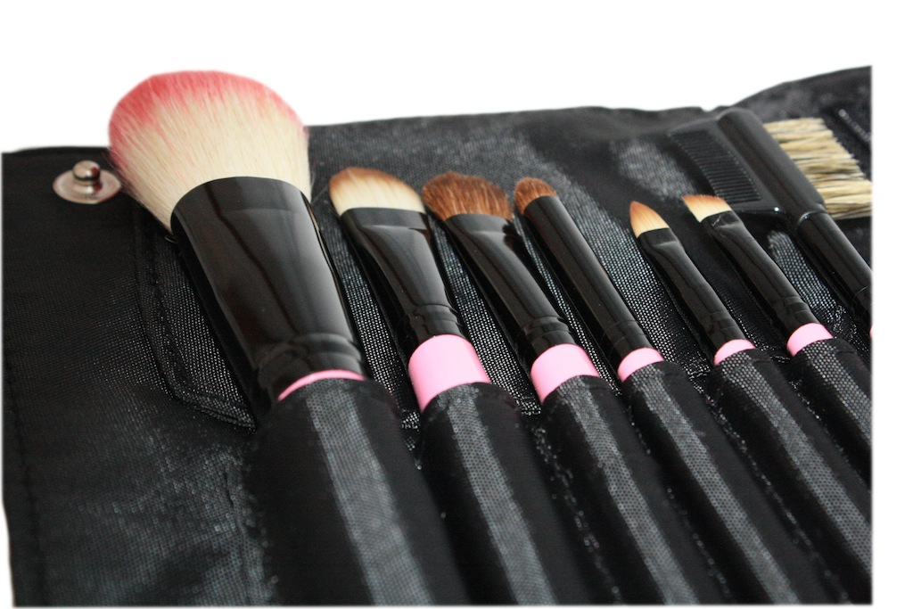 Pink 7 Piece princess Brush Collection